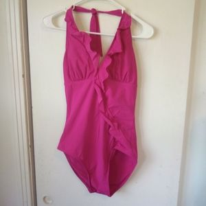 Love your assets pink one of swimsuit size M